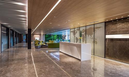 山东绿地国际金融中心IFC智慧办公空间