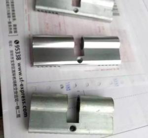 鋁合金鎖芯拋光