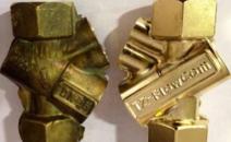 铜件除氧化层对比样板