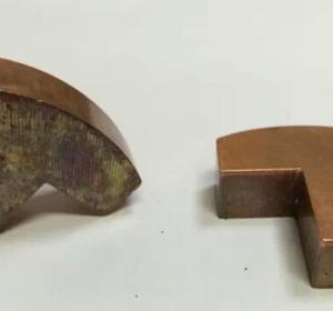銅塊除氧化層拋光樣板