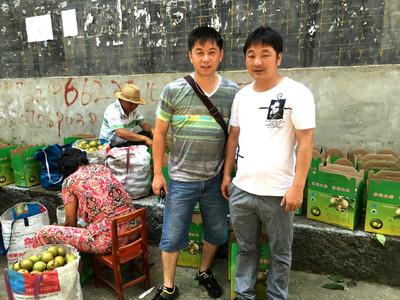这就是商会的魅力 瑞昌市上海商会和横立山果农合作社采购对接