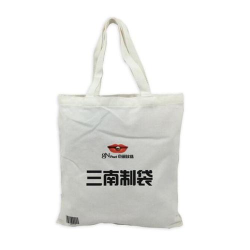 学生厚实棉布袋定做印logo