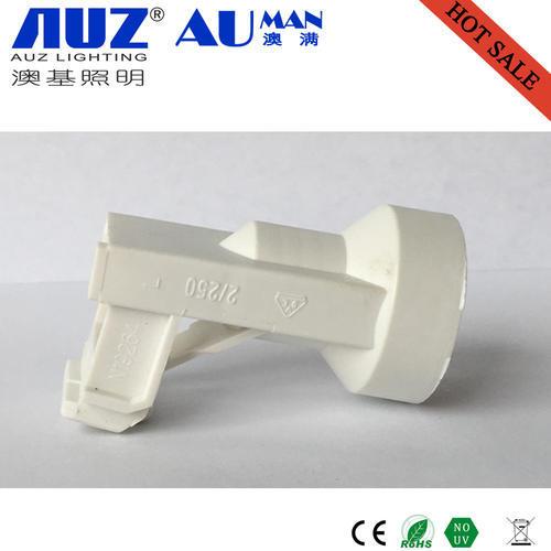 Plastic cord brass lamp base E14 bulb holder lamp holder