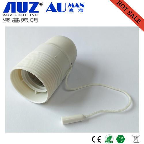 IP65 lampholder E27 lamp holder lamp socket with pull switch