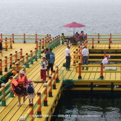 东楮岛半潜式海上观光体验平台