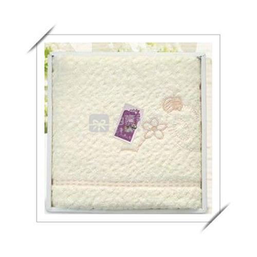 花熊高档单条浴巾