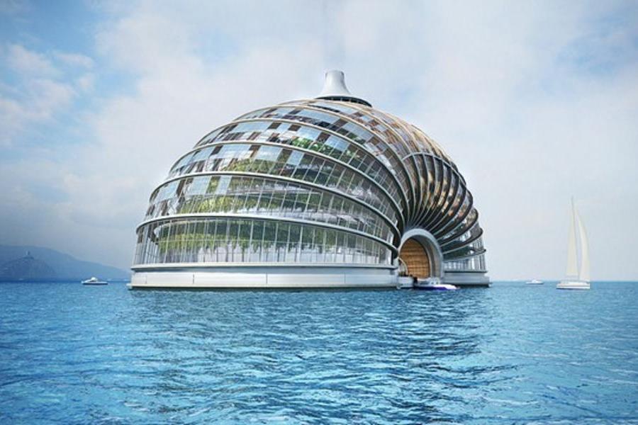 亞歷山大·雷米佐夫的方舟酒店,無印良品臨時建筑之軟木小屋