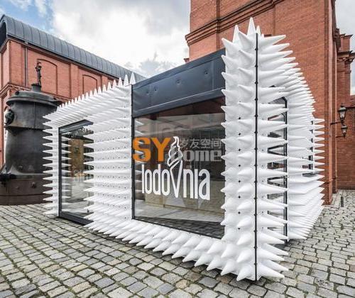 波兰LODOVNIA移动冰激凌销售厅