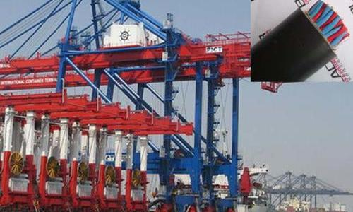 大连港港机卷筒电缆项目