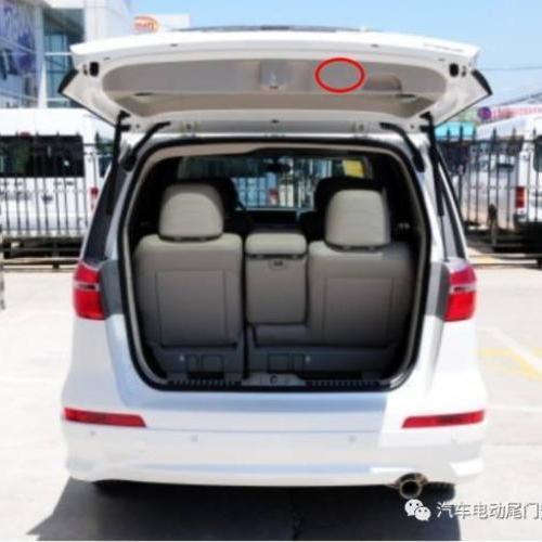 传祺GS4升级电动后备箱 电动尾门安装说明   上海蓝精灵改灯