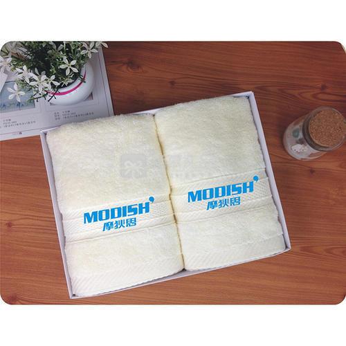 高档长绒棉毛巾两件套