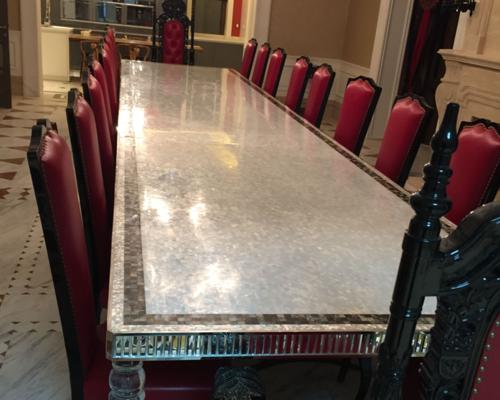貝殼桌面家具