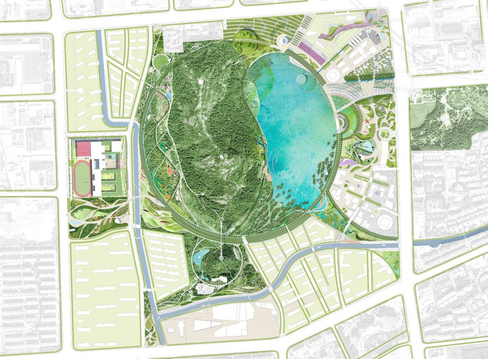 024-WINNING PROPOSAL FOR LION MOUNTAIN Park, Suzhou by TLS