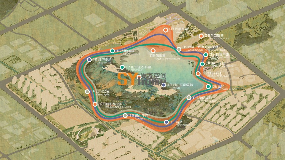019-WINNING PROPOSAL FOR LION MOUNTAIN Park, Suzhou by TLS