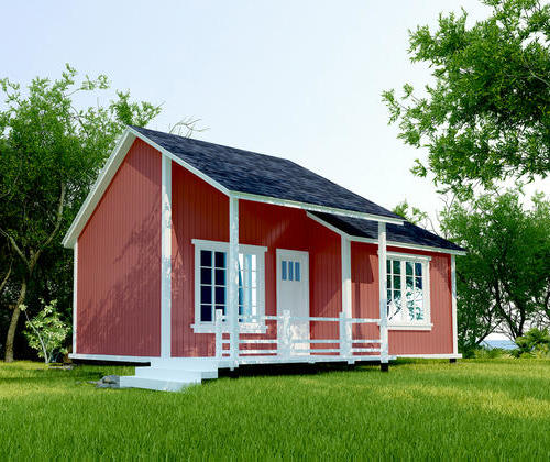 SYM005, 36 cabin flat hardwood structure