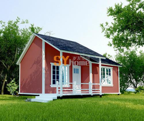 SYM005|硬木结构 36平小木屋