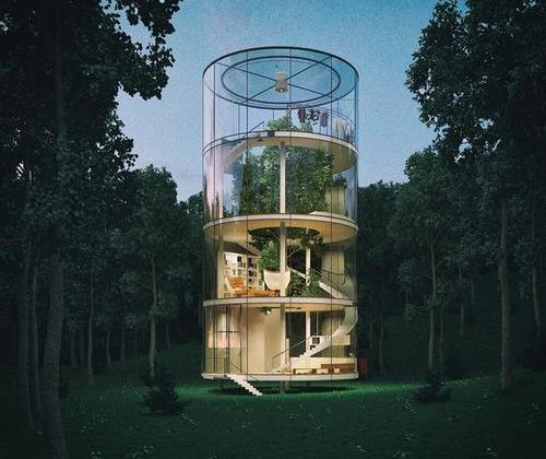 The most fashionable tree house in the world