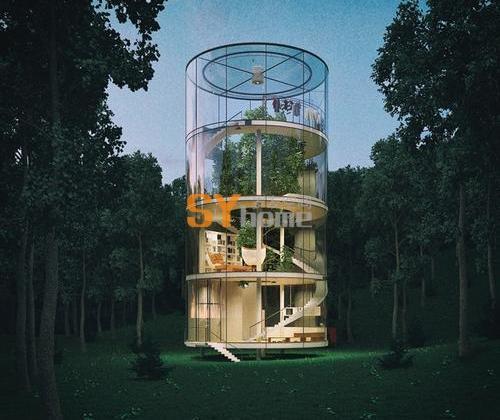 世界最时尚的树屋