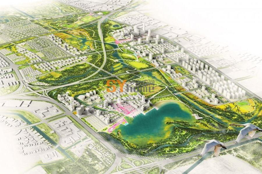 上海张家浜楔形绿地城市设计及景观概念规划及景观概念规划及景观概念规划