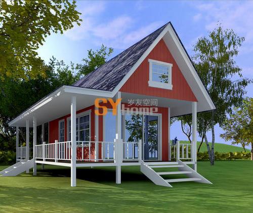 SYM006|生态小木屋 42平  两室一卫  可住4人
