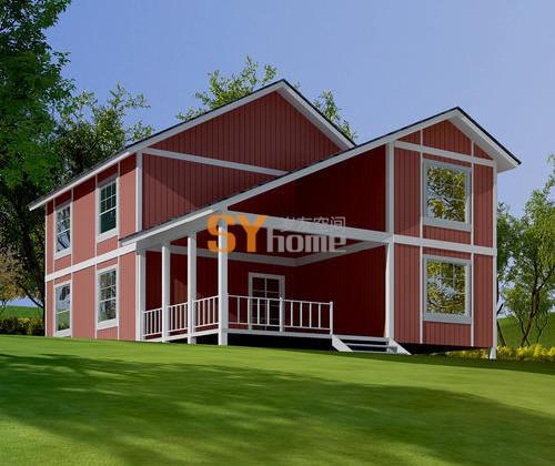 SYM014|生态木屋  五室两厅 大空间174㎡