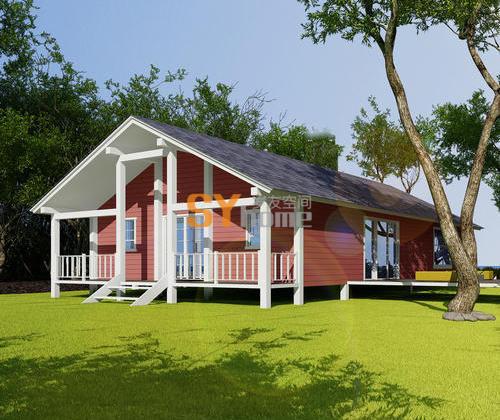 SYM013|生态木屋 三室两厅 153㎡