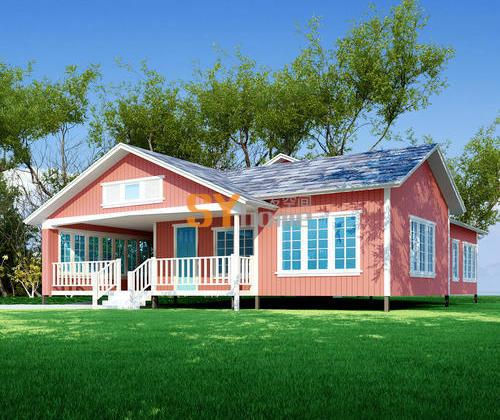 SYM012|生态木屋 三室两厅 149㎡