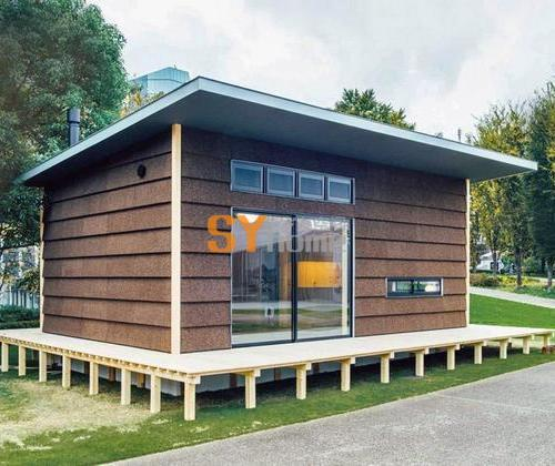 无印良品临时建筑之软木小屋