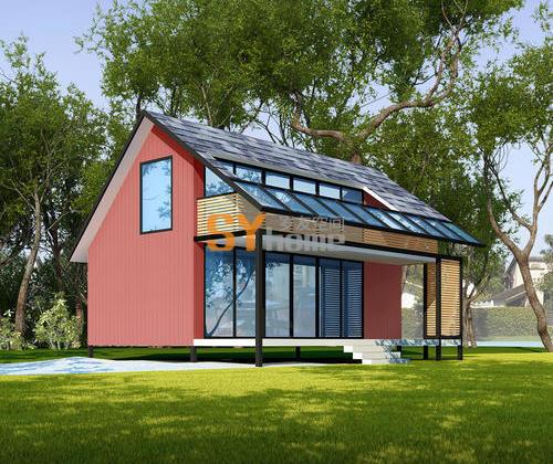 SYM007|生态木屋  两层木屋带阳台 一室一厅