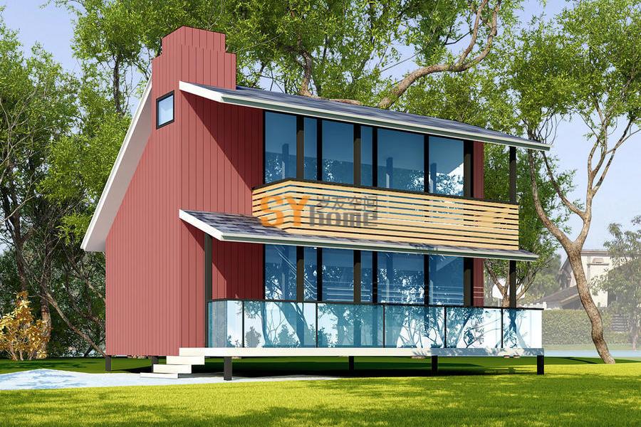 SYM008|生态小木屋  45平  一室户 带阳台