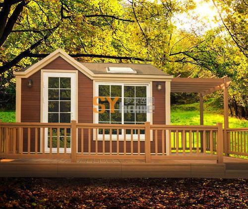 SYM002|高强复合木主体材料  经典移动房 smart box 家庭装 可睡3-4人