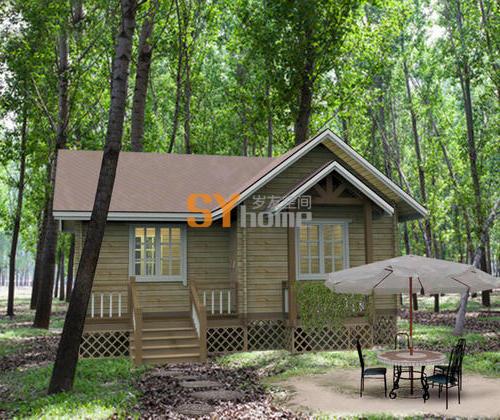 SYM 028|木结构房屋 重木轻木房屋 一室一厅