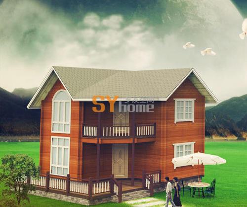 SYM031|木结构房屋  重木轻木结构房屋 96㎡小屋