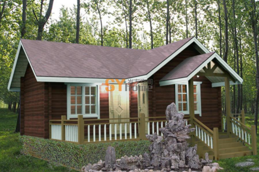 SYM027|木结构房屋 轻木重木房屋 39平两室
