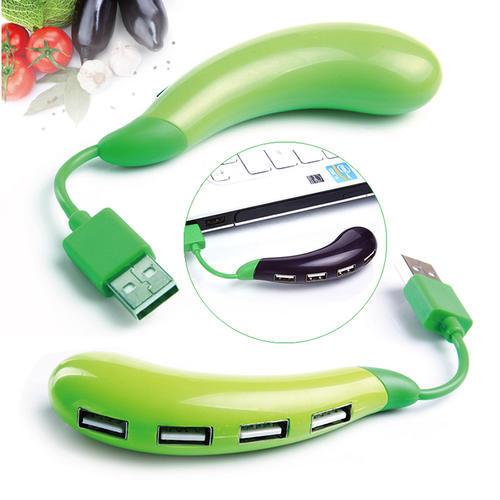 茄子USB集线器