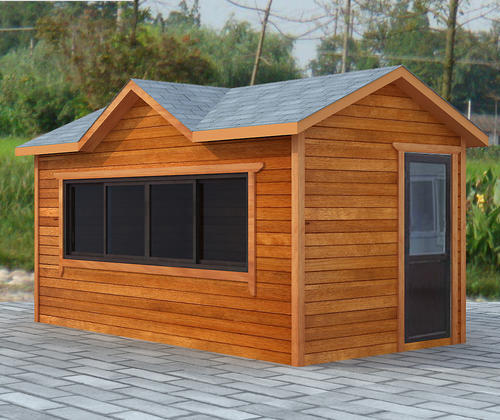 Wooden structure, kiosk, modular house, multicolor optional