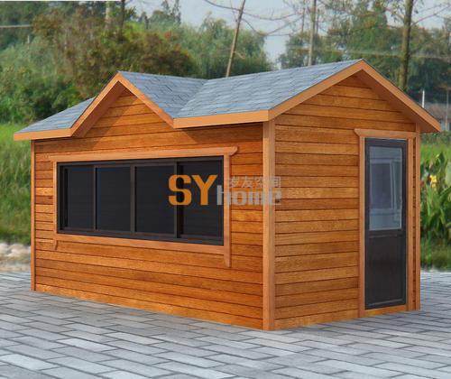 木结构售货亭 模块化房屋 多色可选