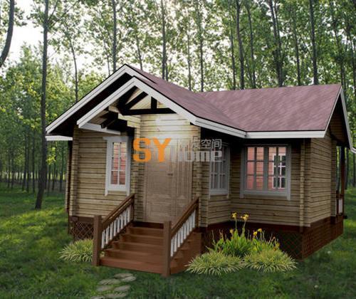 SYM032|木结构房屋 41平 一居室