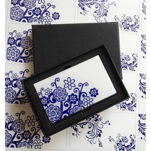 青花瓷名片盒