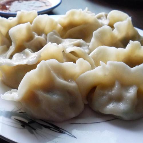 【渔食】东楮岛海草房渔家乐民宿客栈特色美食之:鲅鱼饺子