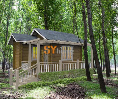 SYM025|木结构房屋 一居室 22平小屋