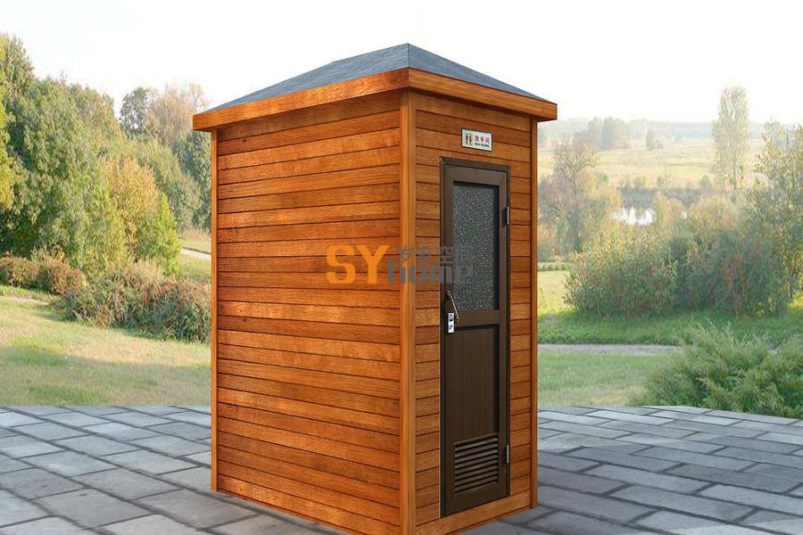 SYM035 木结构卫生间 独卫厕所 旅游景区公共卫生间 可移动厕所