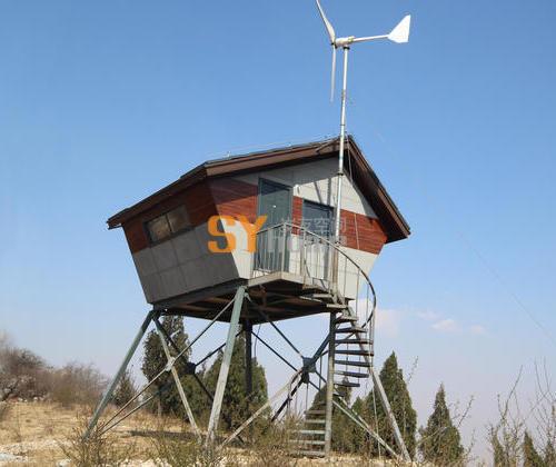 SYC005|轻钢结构瞭望哨  工作站  休息室 观察站