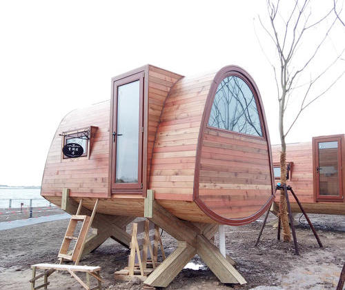 SYM002, a 12 square meters Yishiyiting Wei tree house wooden houses vacation house