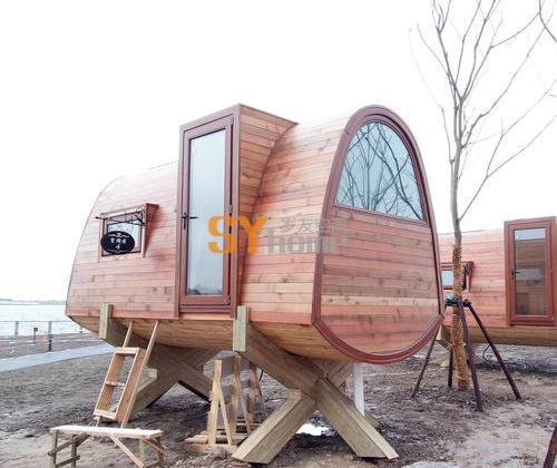 SYM002|12㎡一室一厅一卫树屋 木结构房屋度假屋