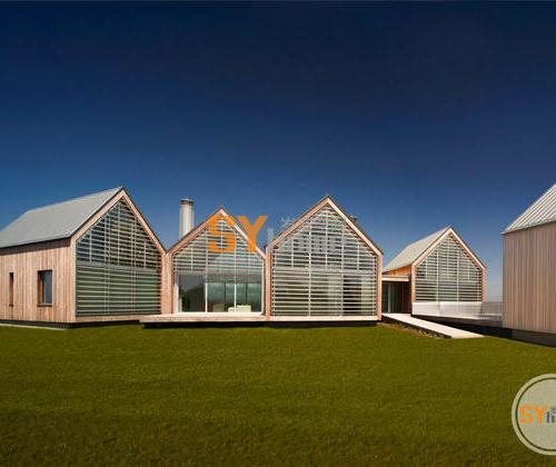 海洋房(Ocean House),它不仅尊重历史的需求,同时也有着突出的现代风格