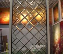 銅條鑲嵌玻璃