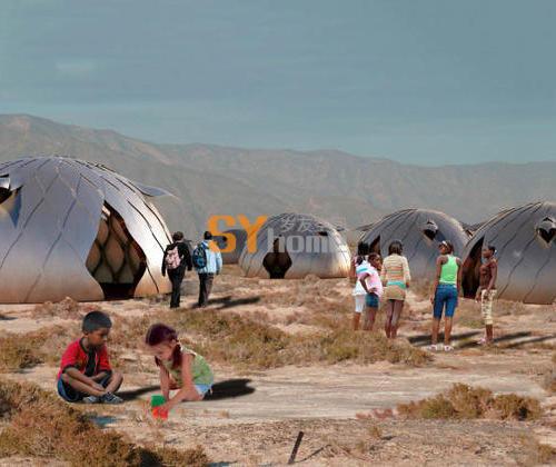 秘鲁学生打造可快速组装的灾后应急小屋
