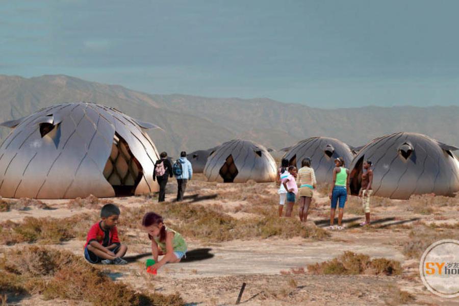 秘魯學生打造可快速組裝的災后應急小屋