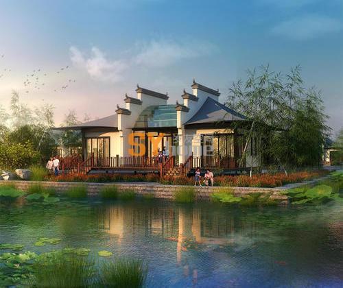 SYG011|江南四居度假屋 工厂化预制 现场组装  建筑面积133.88㎡